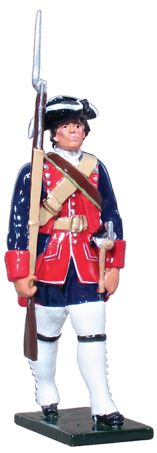 French And Indian War Provincial Uniforms 47003, provincial